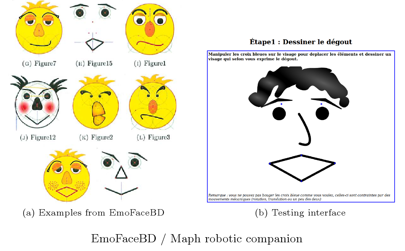 EmoFaceDB/Maph screenshot